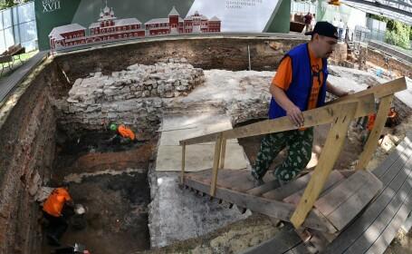 Bombă din al Doilea Război Mondial, descoperită la Kremlin