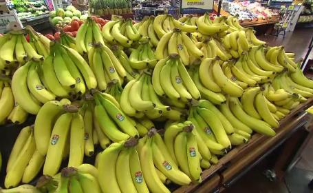 Bananele, pe cale de dispariţie şi tot mai scumpe. \