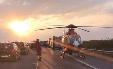 """Mesajul unui poliţist după un accident rutier: """"80% au scos telefoanele să filmeze"""""""