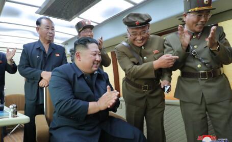 Coreea de Nord: Kim Jong Un a supervizat testarea unei \