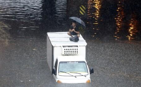 Inundaţii în Istanbul: Centrul istoric al oraşului a fost afectat