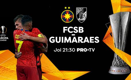 FCSB - Vitoria Guimaraes