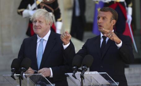 Mesajul lui Macron la întâlnirea cu Boris Jonhson: \