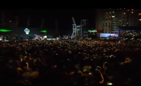 5 morți într-o busculadă la un concert