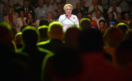 Viorica Dancila, desemnata oficial candidatul PSD la prezidentiale