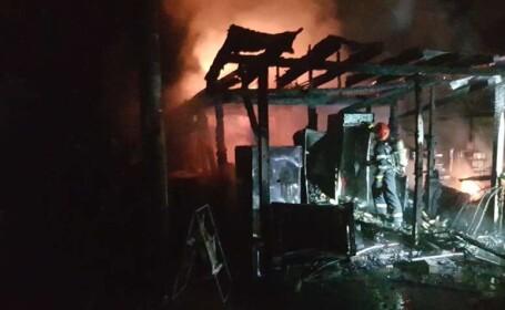 Incendiu puternic la Grădina Zoologică din Sibiu. Starea animalelor