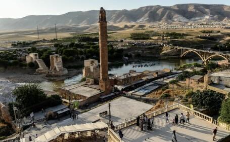 Turcia se pregătește să inunde un oraș istoric, cu mii de locuitori. Protestele au eșuat