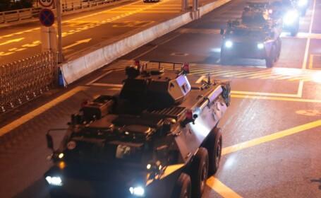 Soldati chinezi in Hong Kong
