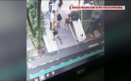 Primele explicații ale femeii care a bătut cu pumnii o fetiță de 13 ani