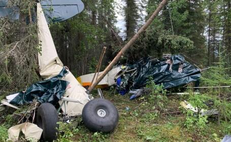 Două avioane de mici dimensiuni s-au ciocnit în aer deasupra Alaskăi