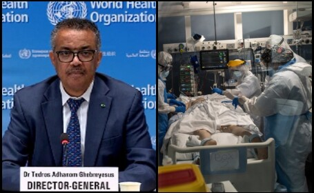 Directorul general al OMS, Tedros Adhanom Ghebreyesus