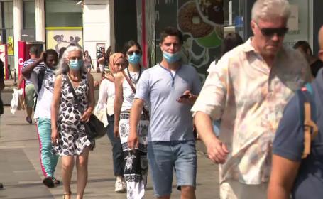 Locurile din București în care purtarea măștii de protecție este obligatorie. La cât se ridică amenzile