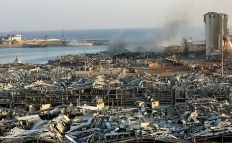 Imagini după explozia din Beirut, Liban - 1