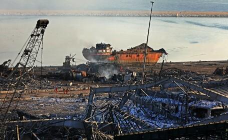 Imagini după explozia din Beirut, Liban - 15