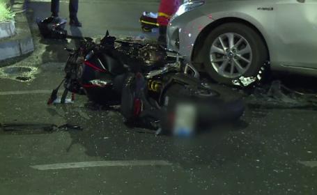 Moarte cumplită pentru un motociclist, în București. Cum s-a întâmplat