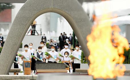 Ceremonie de comemorare. 75 de ani de la atacul de la Hiroshima - 10