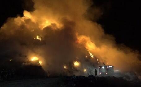 Zeci de incendii în mai multe județe din țară