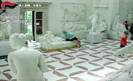 Un turist a distrus o statuie dintr-un muzeu italian