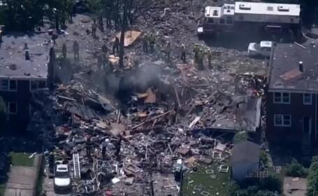 Explozie puternică în Statele Unite, soldată cu mai multe victime