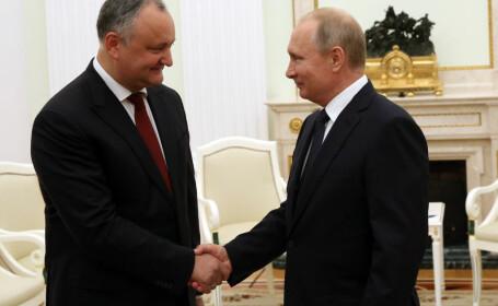 Preşedintele pro-rus al Republicii Moldova vrea să fie cobai pentru vaccinul lui Putin. \