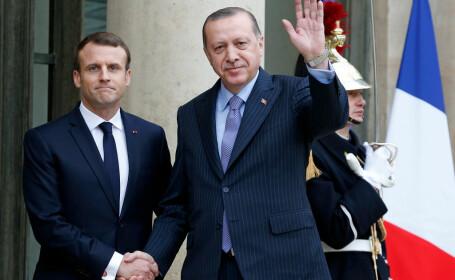 Franța își suplimentează prezența militară în Mediterana de Est, pe fondul tensiunilor dintre turci și greci