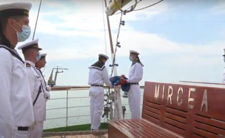 """Orban, mesaj către marinari: """"Oameni pregătiți mereu să înfrunte pericole"""""""