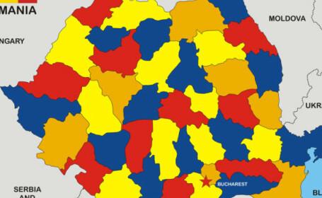Județele cu cele mai multe cazuri noi de COVID-19 în ultimele 24 de ore. Bucureștiul are iar peste 200
