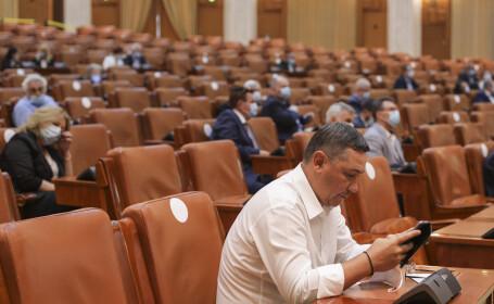 Sesiune extraordinară la Camera Deputaților. Principalul punct- ordonanța privind alocațiile