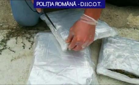 Percheziții la o grupare de trafic de droguri din Dâmbovița. Cum acționau