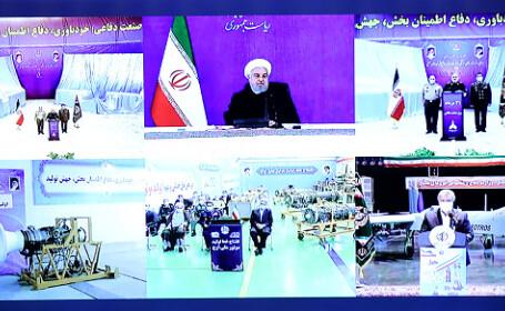 VIDEO. Iranul a prezentat două rachete balistice și de croazieră, produse local