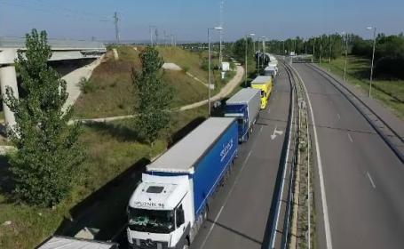 Cozi kilometrice la granița cu Bulgaria. De ce aleg șoferii să meargă prin România