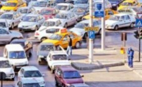 Soferii au protestat impotriva taxei auto