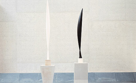 O padure de sculpturi la Muzeul National de Arta