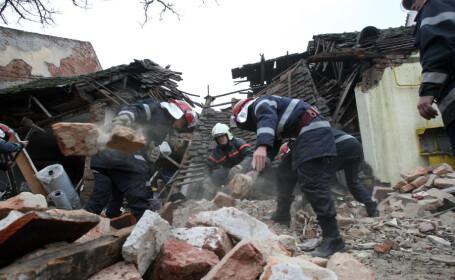 35 de raniti si un bloc distrus dupa o explozie in Turcia