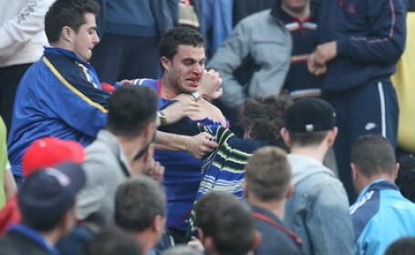 Bataie crancena intre suporterii echipei Hajduk Split si cei dinamovisti