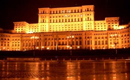 Incendiu la Palatul Parlamentului!