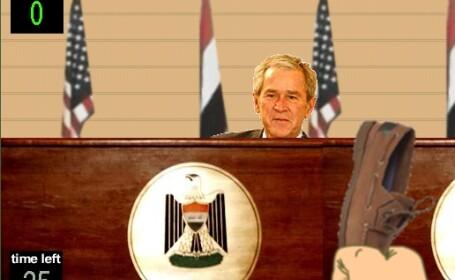 Da-i pantofii lui George W. Bush!