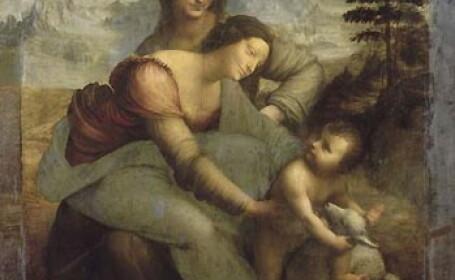 Madona, copilul si Sfanta Ana