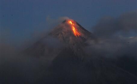 Eruptie, vulcan