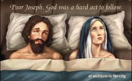 Fecioara Maria .... in pat cu Iosif?!