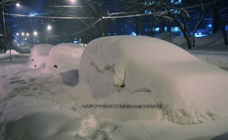 Stare de urgenta in Statele Unite din cauza furtunilor de zapada!