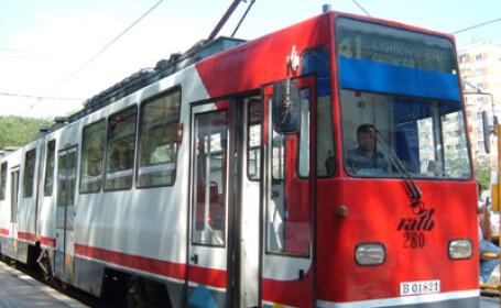 Tramvaiele liniei 41 nu vor circula sâmbătă şi duminică. Decizia luată de RATB