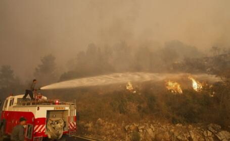 40 de oameni au murit intr-un incendiu petrecut in apropiere de Haifa