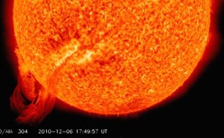 Atentie! Mai multe explozii solare de proportii in urmatoarele zile