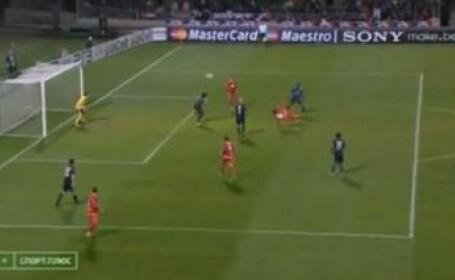 Posibil cel mai tare gol din istoria Champions League!Vezi BOMBA sezonului!