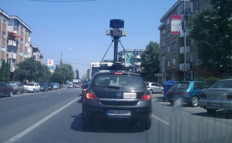 Masina Google StreetView