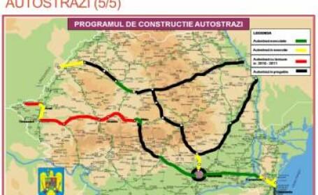 Harta autostrazilor! Pe unde ne promit oficialii ca vom circula!