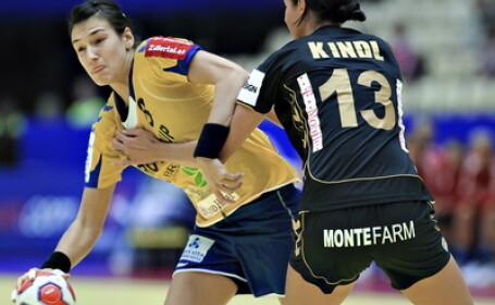 Romania s-a calificat in semifinalele CE de handbal feminin
