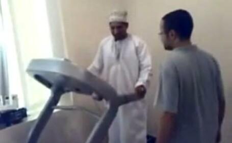 arab pe banda de alergat