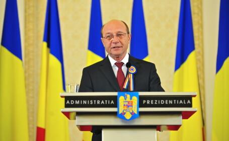 Traian Basescu: \